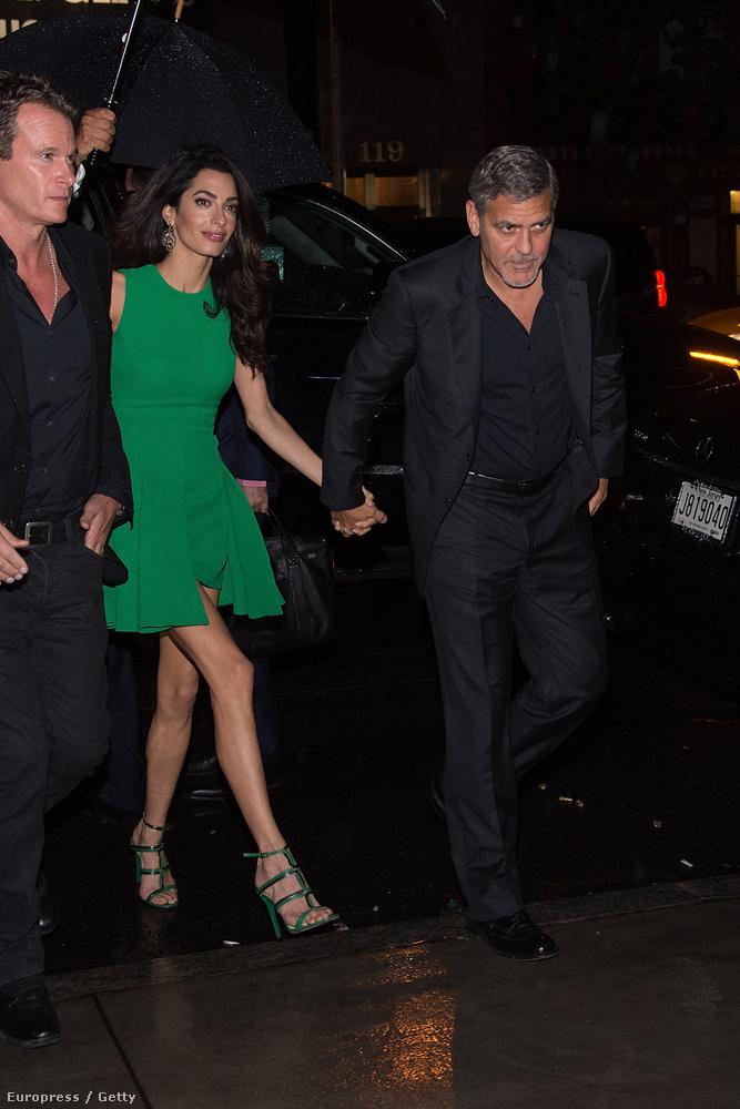 Ez a felvezető George Clooney grimaszai előtt