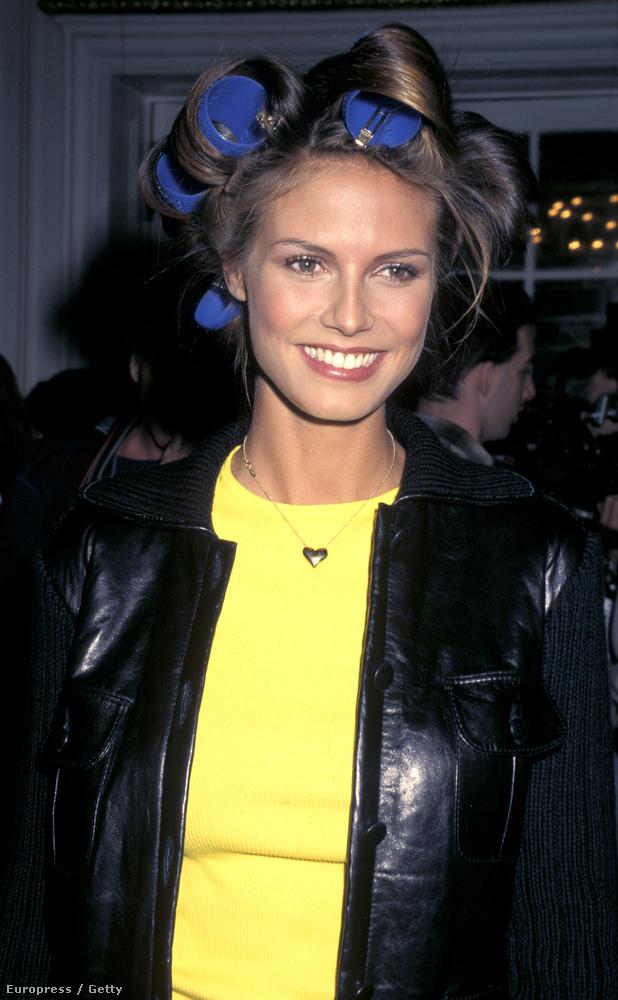 Heidi Klum inkább nézett ki 97-ben Barbie-babának, mintsem érett nőnek
