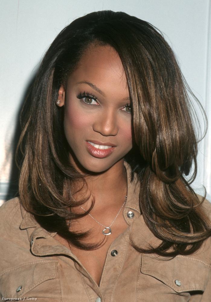 Ez a kép 18 éve készült Tyra Banksről