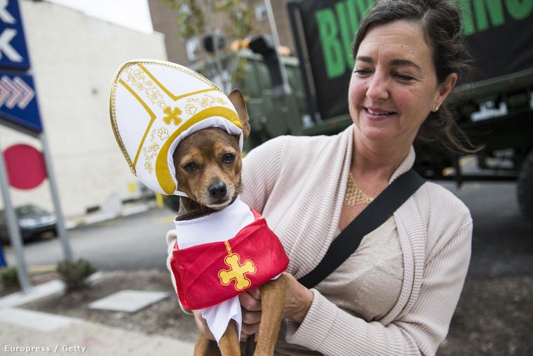 A hét egyik legfontosabb történése a pápa amerikai látogatása volt