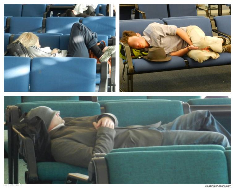 A reptéren aludni szívás, de olcsó.