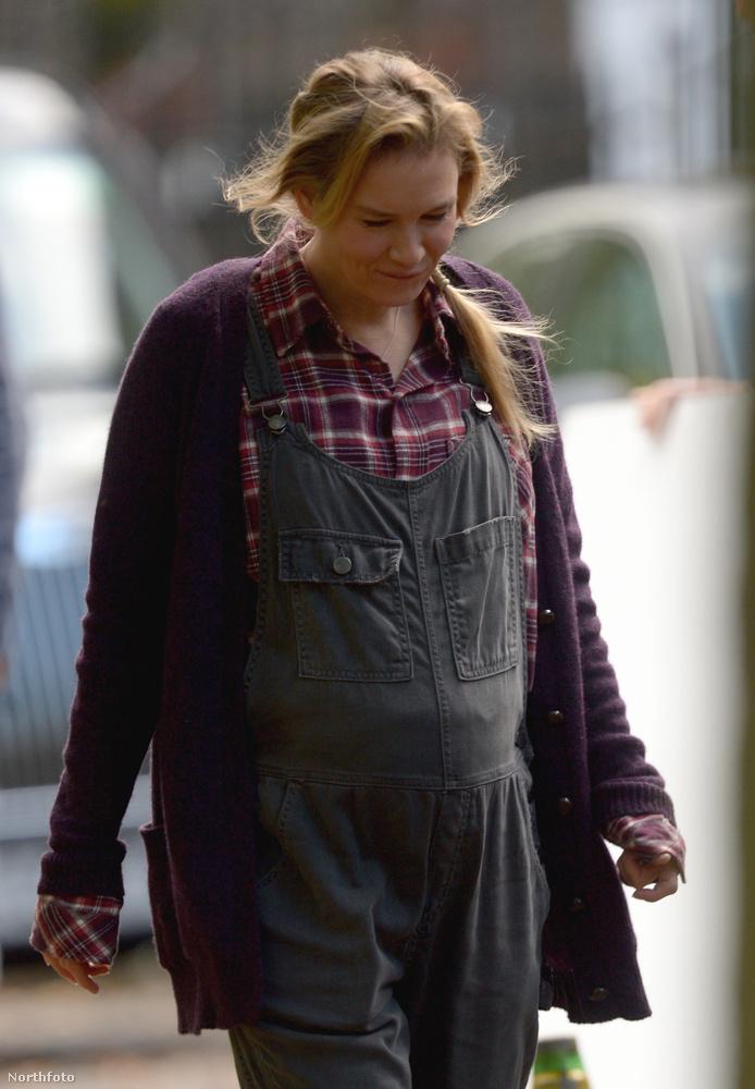 Renée Zellweger nagyon jól néz ki, nem? Na de nemcsak őt örökítették meg a forgatáson.