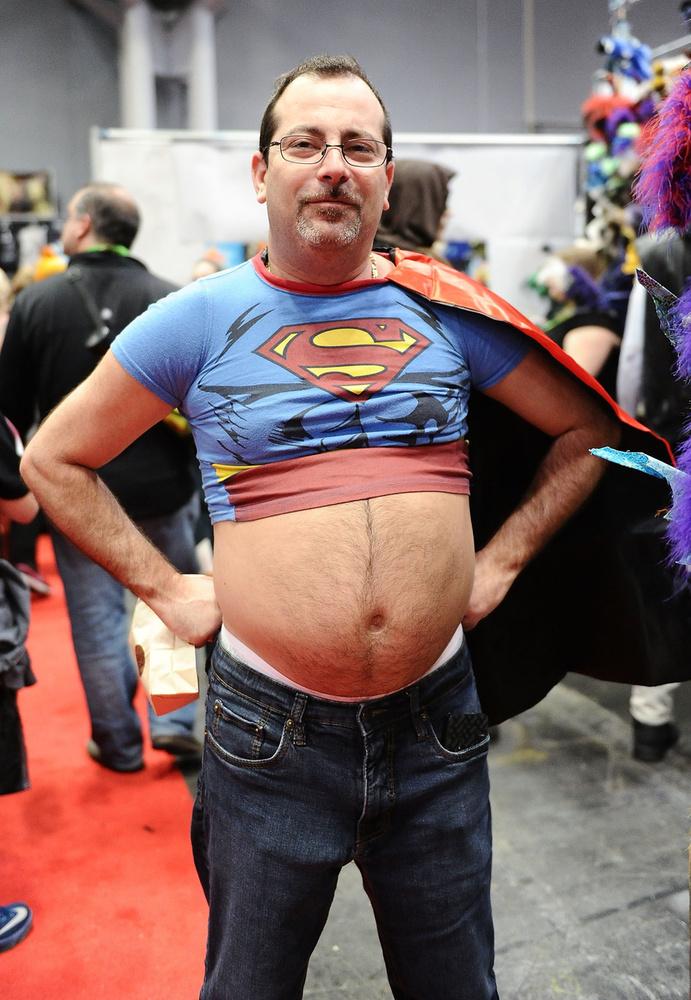 Hát ilyen egy igazi Superman pocakja?
