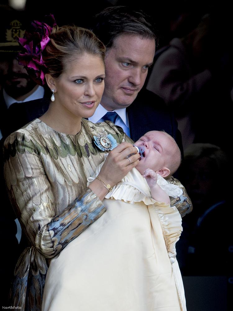 Magdolna hercegnő és a férje, Christopher O'Neill, aki azért nem herceg, mert ahhoz fel kellett volna vennie a svéd állampolgárságot, ő viszont szeretett volna továbbra is amerikai üzletember maradni.