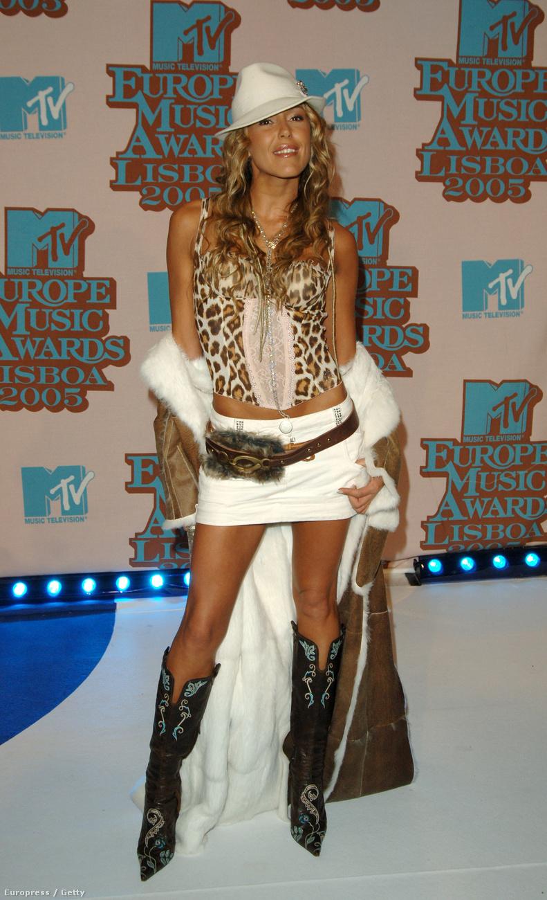 Merche Romero egy portugál modell, és 2005 januárjától jártak elvileg 2006 szeptemberéig