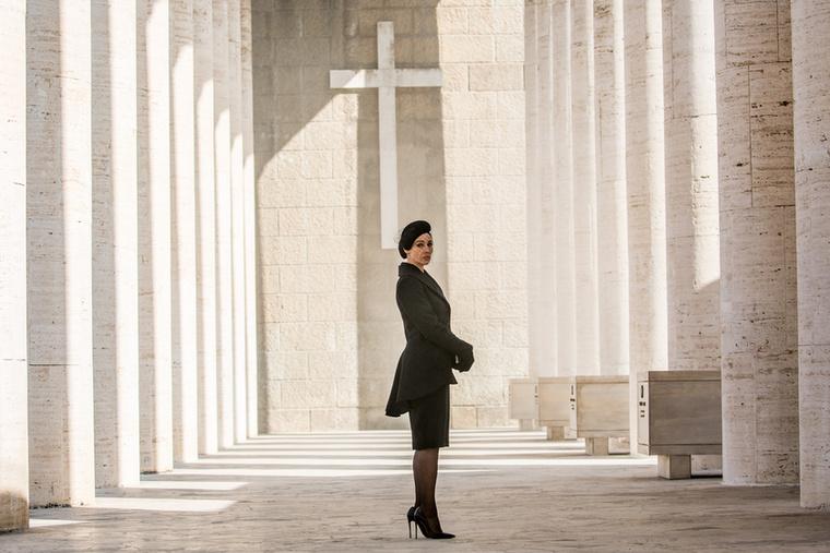A következő James Bond filmben, a Spectre-ben Monica Bellucci egy olasz özvegyet alakít
