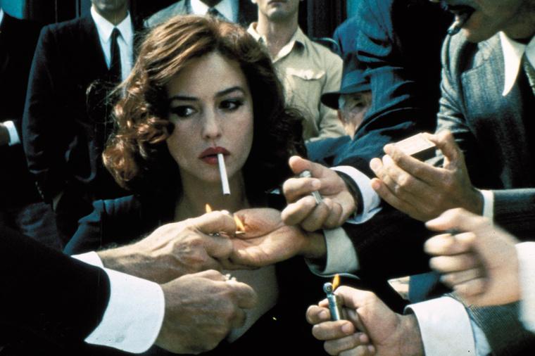 A szerepe szerint az új James Bond-filmben szó szerint a végzet asszonyát alakítja olasz özvegyként, és nem először