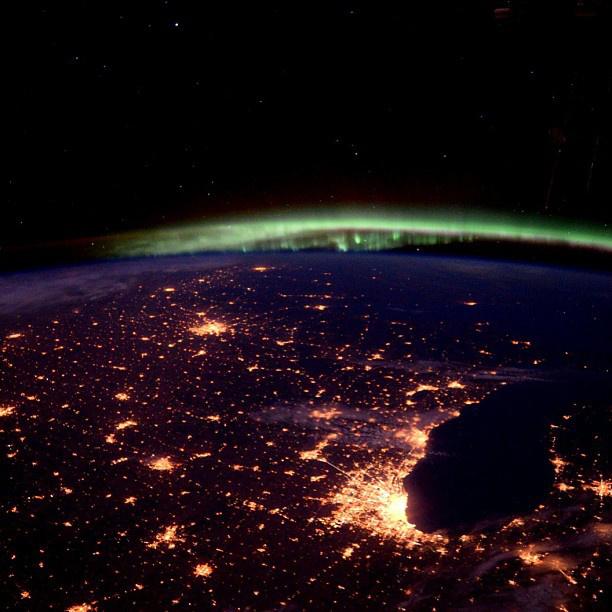 Chicago, és egy kis északi fény.