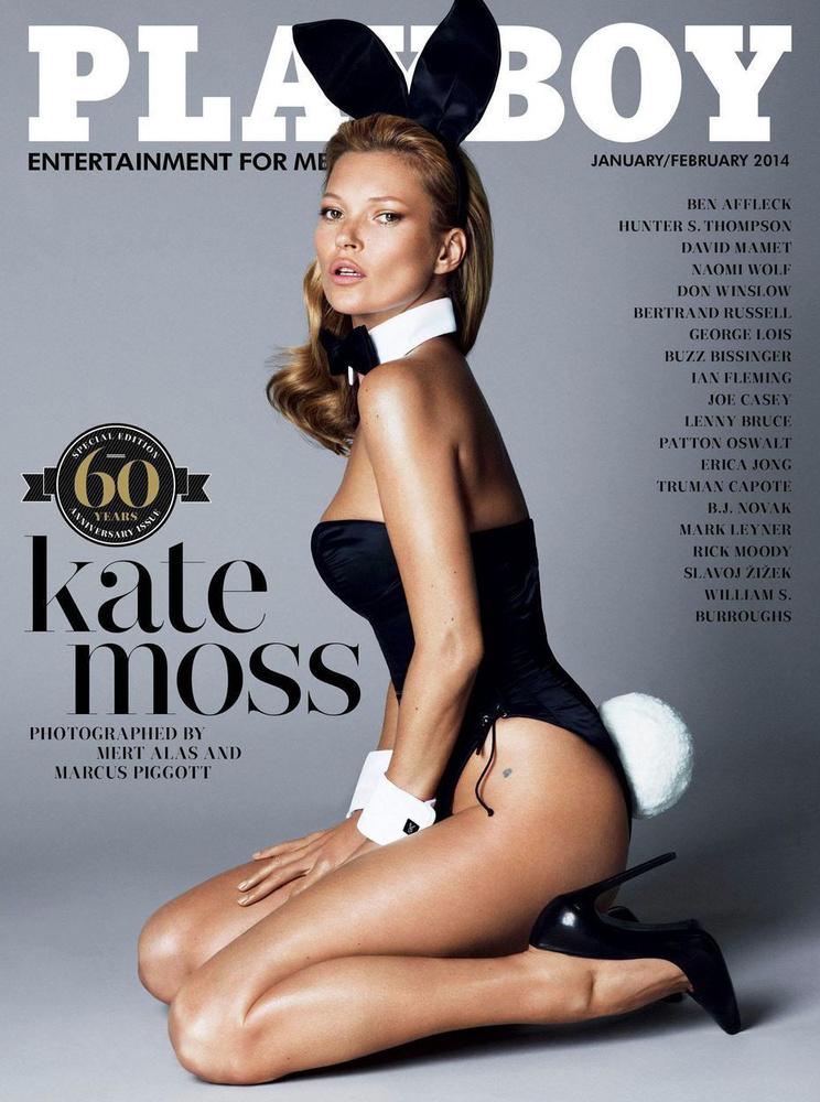 Mostanában egyre ritkábban jelennek meg igazán nagy nevek a lapban, ezért is szólt nagyot, hogy 2014 januárjában Kate Moss kapott egy címlapot