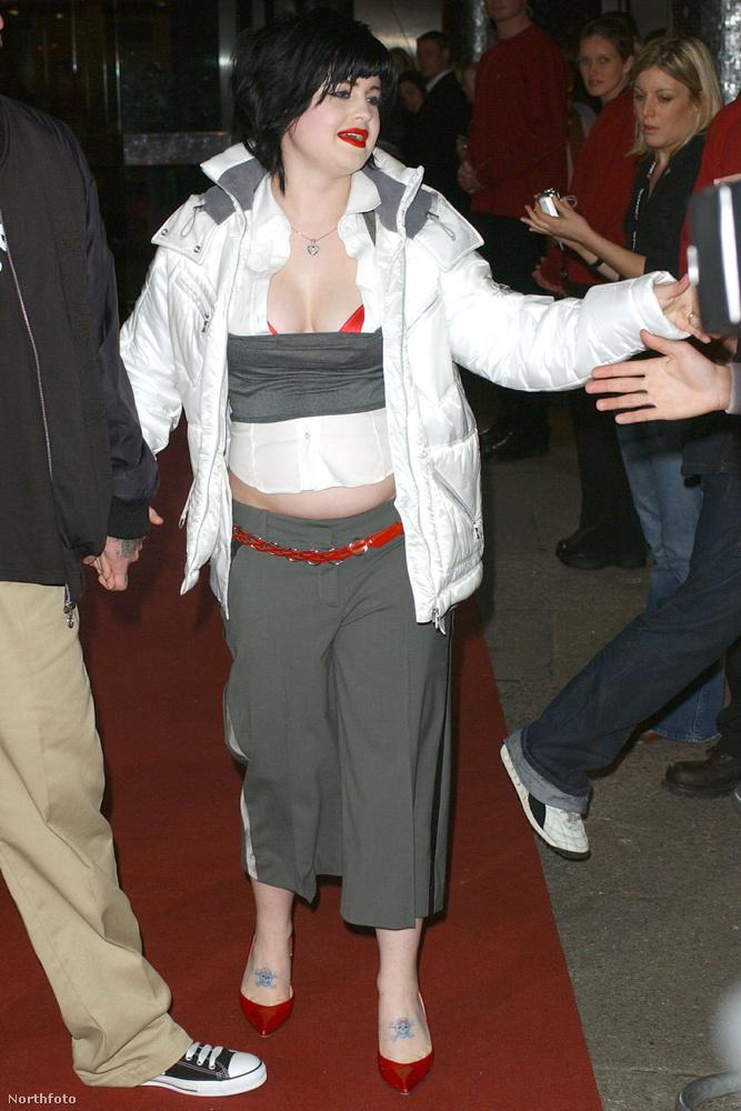 Jó, hát Kelly Osbourne nem volt mindig csúcsformában.