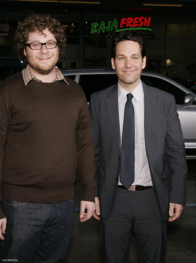 Seth Rogan a szemüveges hájas balfácán szerepkörében volt testhezálló.
