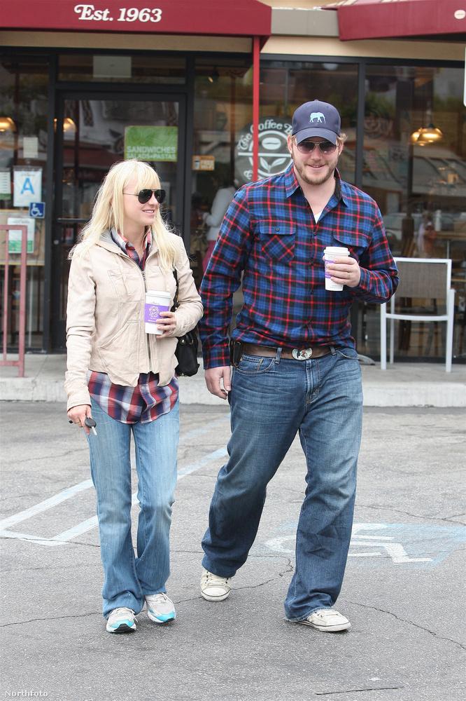 Chris Pratt egy ideig igazán komplementer alkat volt madárcsontú felesége, Anna Faris oldalán.
