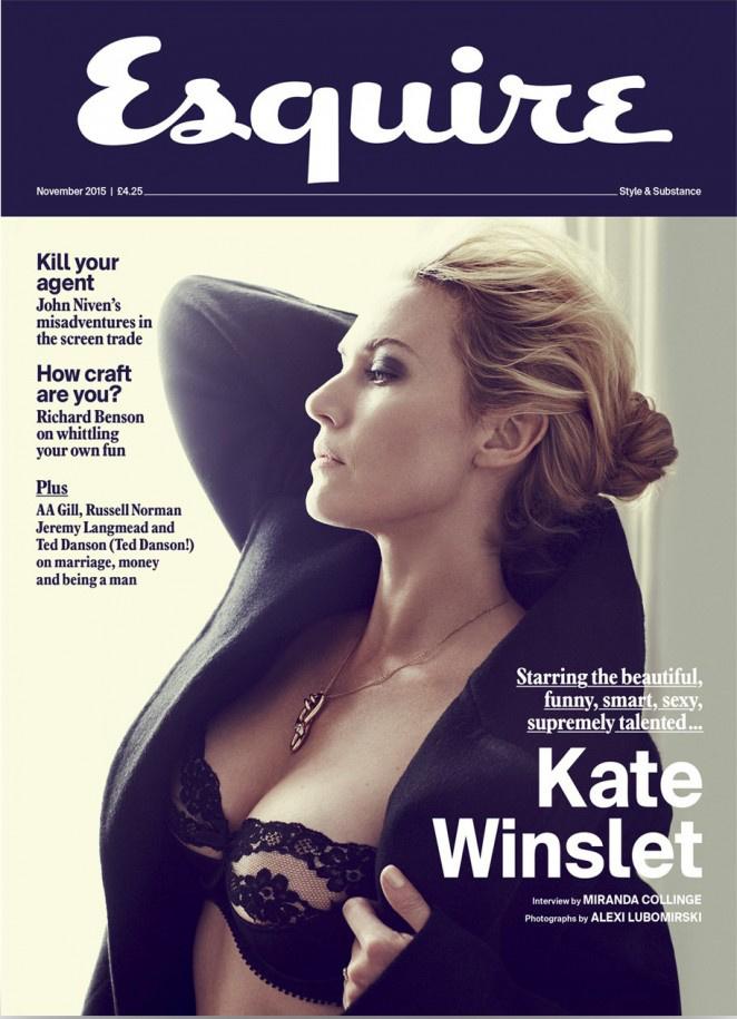 Ezt amúgy az Esquire is észrevette, nem véletlenül szól majd a novemberi lapjuk Kate Winsletről.