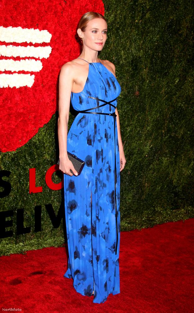 Diane Kruger is megjelent az eseményen