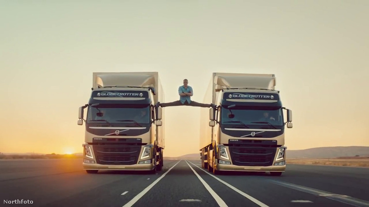 2013-ban pedig azok is megismerhették a nevét és a híres terpesztését a Volvo reklámjából, akik a kilencvenes években még sehol nem voltak