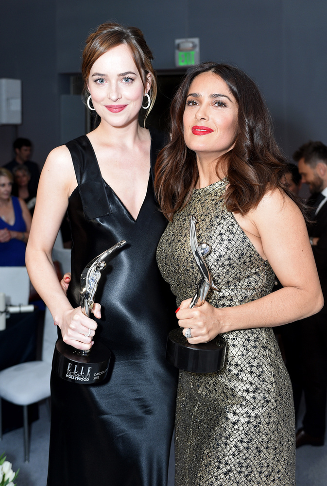Salma Hayek és Johnson is kaptak díjat