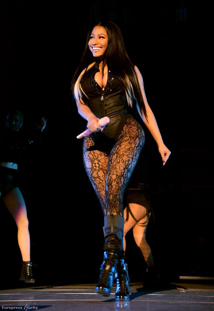 A koncerten Nicki Minaj is fellépett