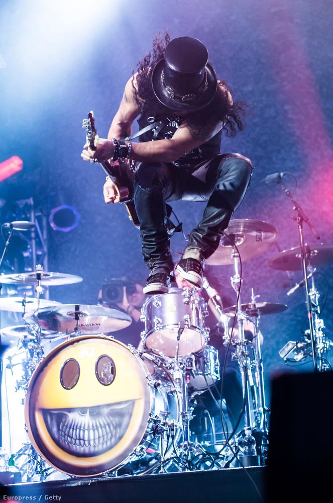 Tavaly a kemény rockot Slash képviselte, aki fel is lépett az eseményen