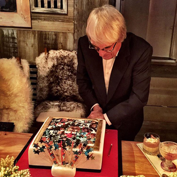 Bernie Ecclestone október 28-án lesz 85 éves, de a lányai már megrendezték a szülinapi buliját