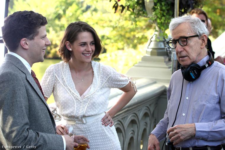 Woody Allennel öröm együtt dolgozni.