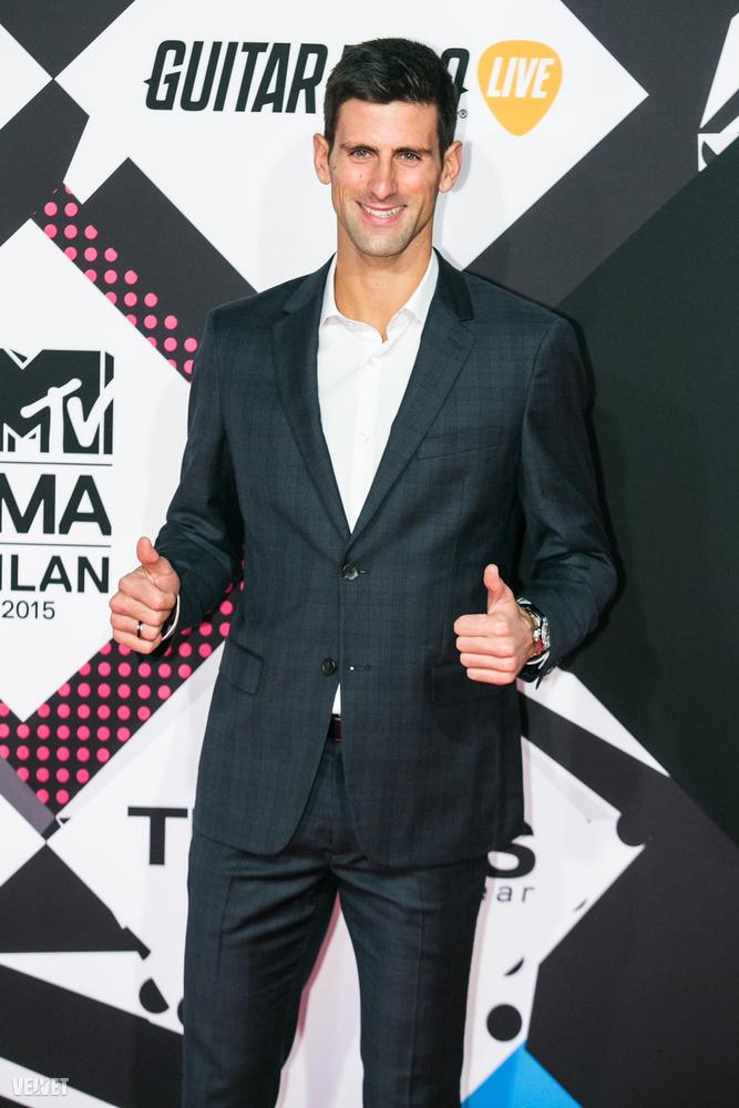 De ott volt például Novák Djokovics is, a tenisz világranglista első helyezettje
