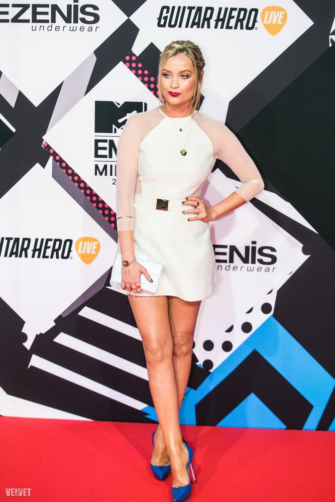 A Milánóban megrendezett MTV Europe Music Awardson természetesen ott volt az MTV Europe egykori arca, Laura Whitmore.