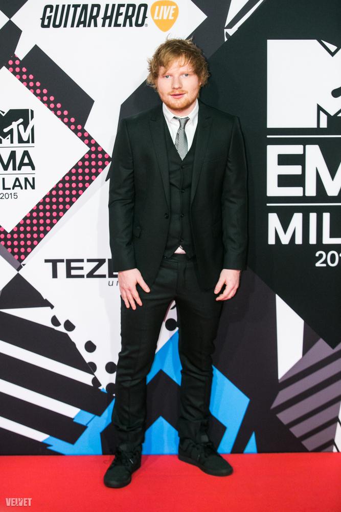 Ed Sheeran tudott még több díjat behúzni