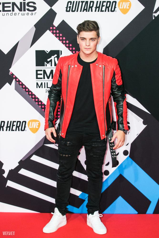 Martin Garrix kapta a legjobb elektronikus zenének járó díjat.