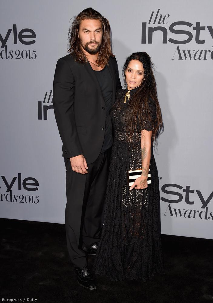 de ez sokkal látványosabb volt Bonet és férje, Jason Momoa esetében