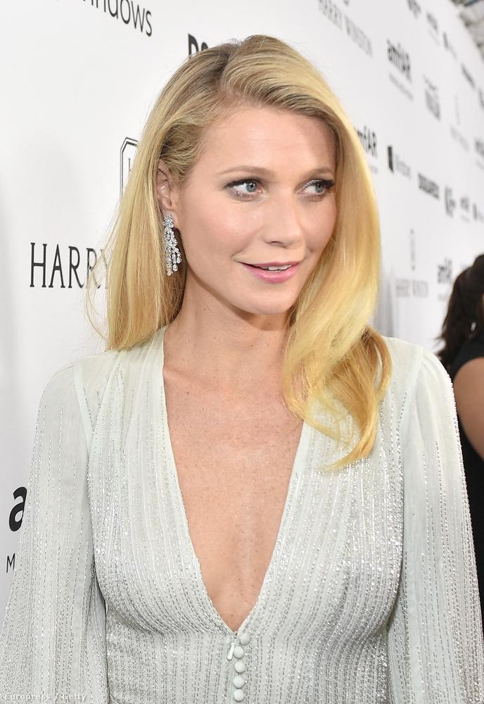 Ha mi lennénk Gwyneth Paltrow, akkor kézen fognánk azokat az illetőket, akik kiválasztották neki ezt a ruhát, megcsinálták a haját és a sminkjét, és soha nem engednénk el