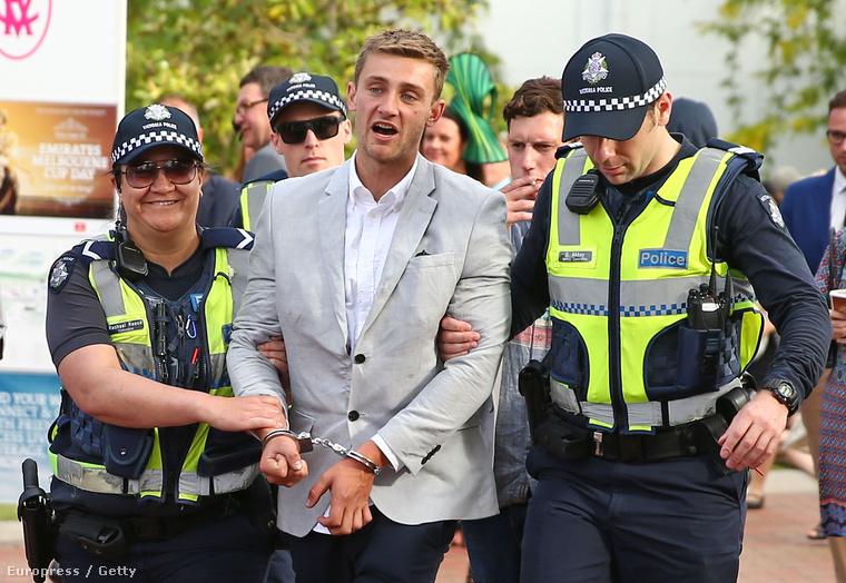 Ez egy jó hangulatú letartóztatás.