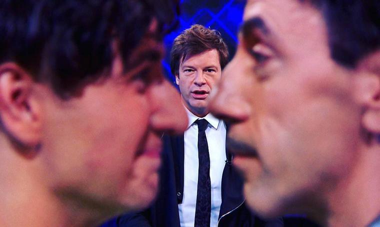 Till Attila műsorvezető Instagram-képeivel hétről-hétre lerántja a leplet a Sztárban sztár háttérmunkálatainak titkairól