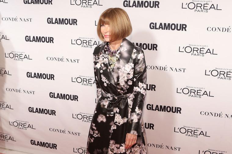 Természetesen az amerikai Vogue főszerkesztője, Anna Wintour sem hagyta ki a Glamour nőit