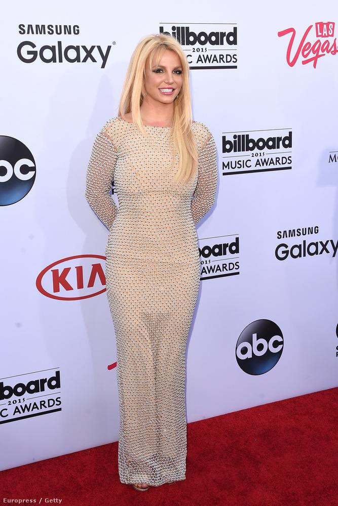 Britney Spears a Billboard Music Awardson feszengett okkal.
