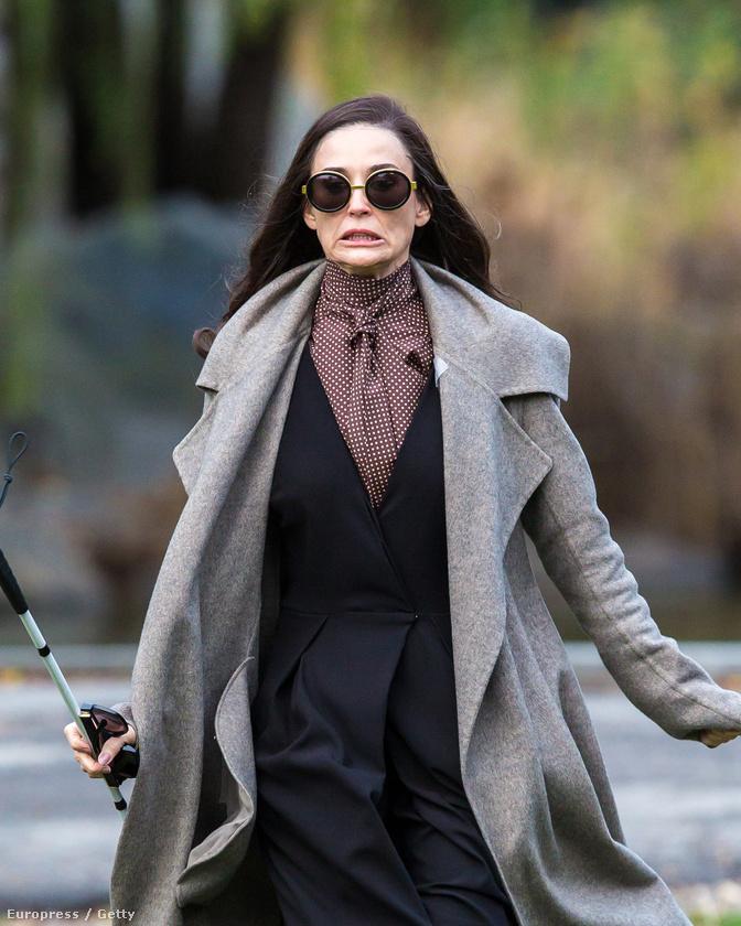 Demi Moore meg bebizonyította, hogy mégsem botoxolták tele az arcát