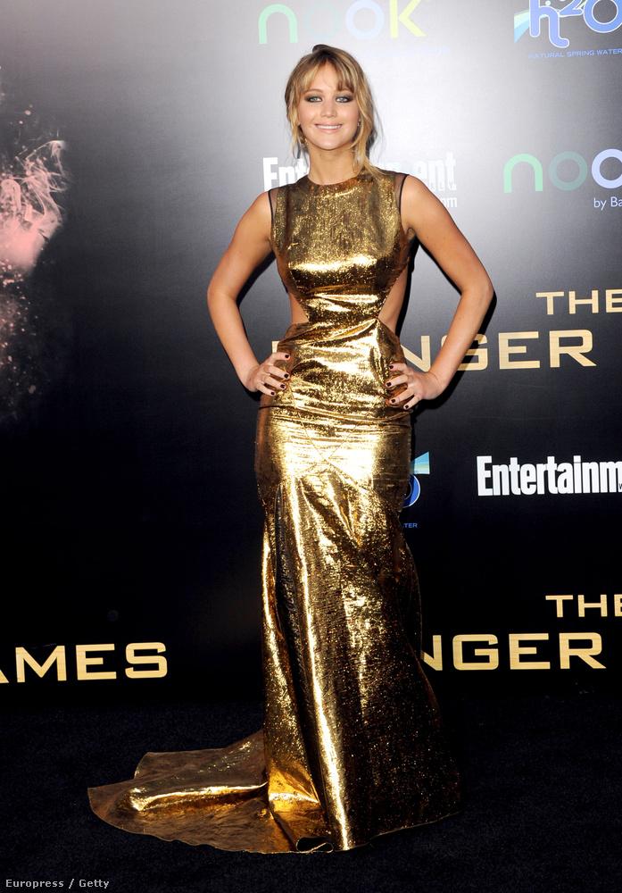 Jennifer Lawrence 2012-ben már szerepelt itt-ott, de még senki sem tudta, mekkora sztár lesz belőle