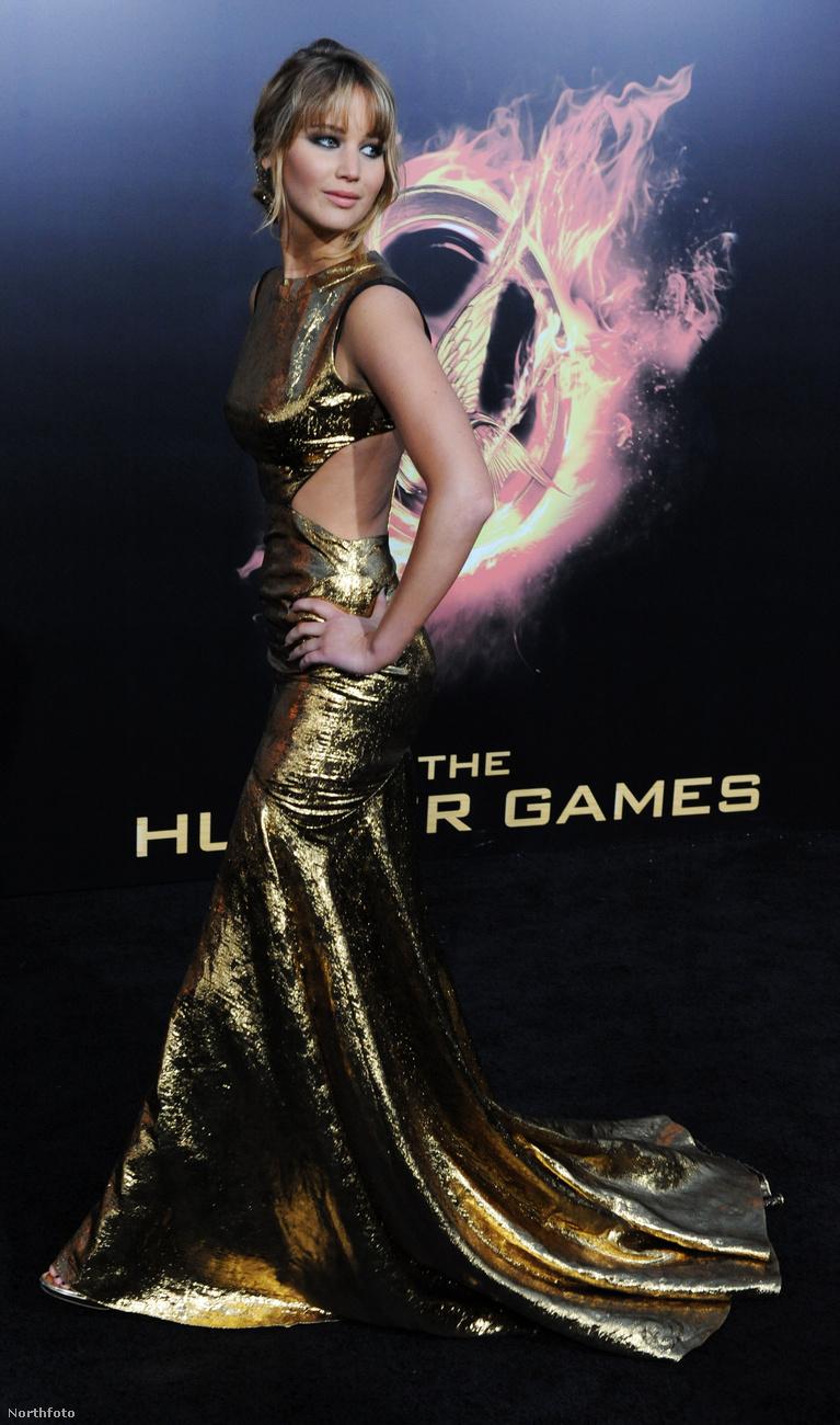 Jennifer Lawrence az első Éhezők viadala-film óta, vagyis 2012 márciusa óta nemzetközileg számon tartott jó nő