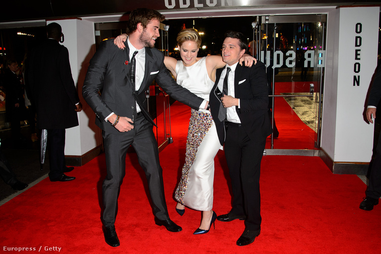 Hemsworth, Lawrence, Hutcherson.