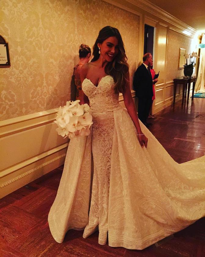 A pár egy Palm Beach-i hotelben tartotta az esküvőt, ahol egész hétvégén tartott a buli