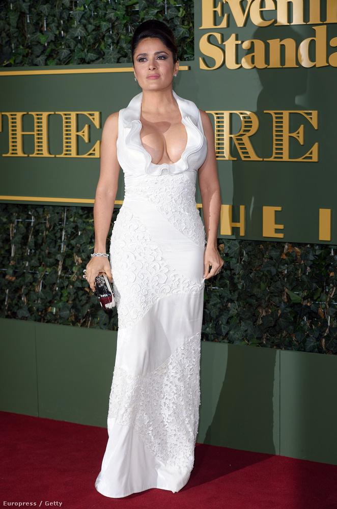 A színésznő november 22-én, Londonban vett részt