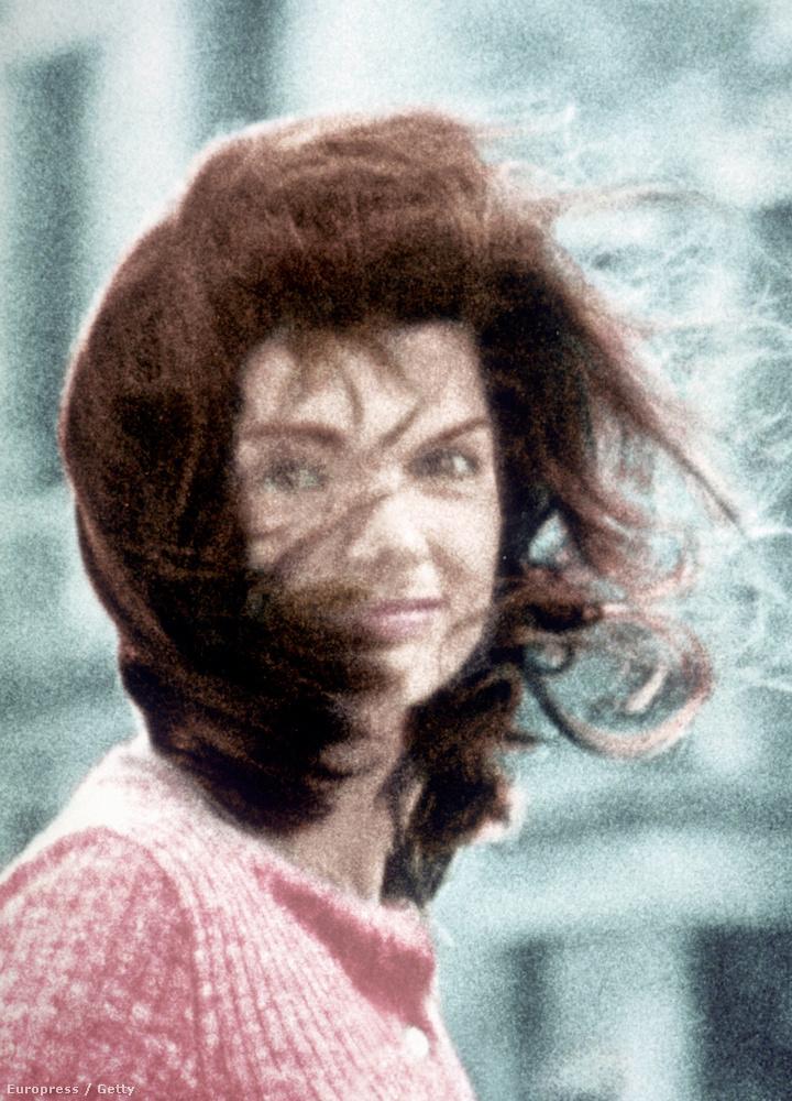 A szélfútta hajú Jackie O.-ról készült képét tartja a Mona Lisájának.