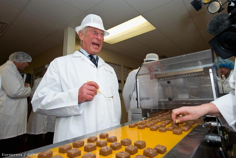 Ugye nem kell mondanunk, miért annyira vicces, hogy pont őt küldték a House of Dorchester csokoládégyárba.