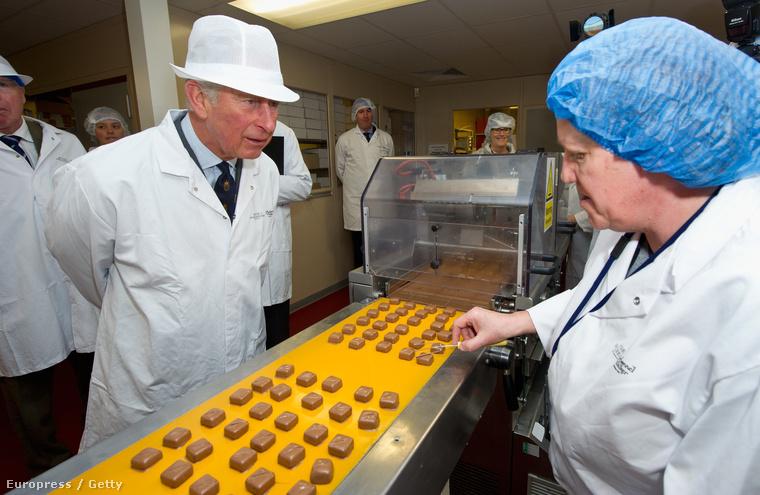 A királyi család tagjaként Károly hercegnek is részt kell vennie néha egy-egy gyárlátogatáson