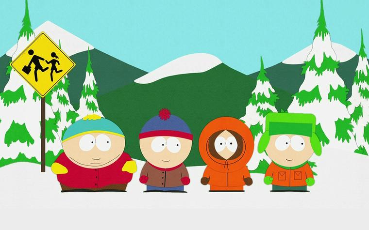 A South Park című rajzfilmsorozatot 1997-ben mutatták be, de akkor már 5 éve léteztek a sorozat főszereplői, igaz, sokkal bénábban, mint amilyenek később lettek.