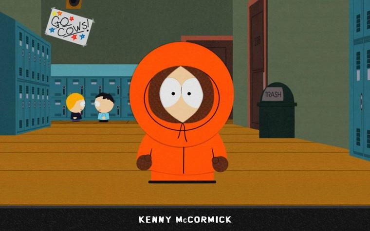 Kenny McCormick ruhája jobban hasonlít az 1992-es rajzfilmben látott ruhához, de itt is alig látunk változást 1995-höz képest.