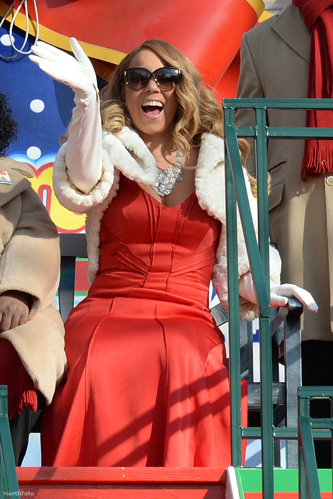 Mariah Carey is felmászott egyre