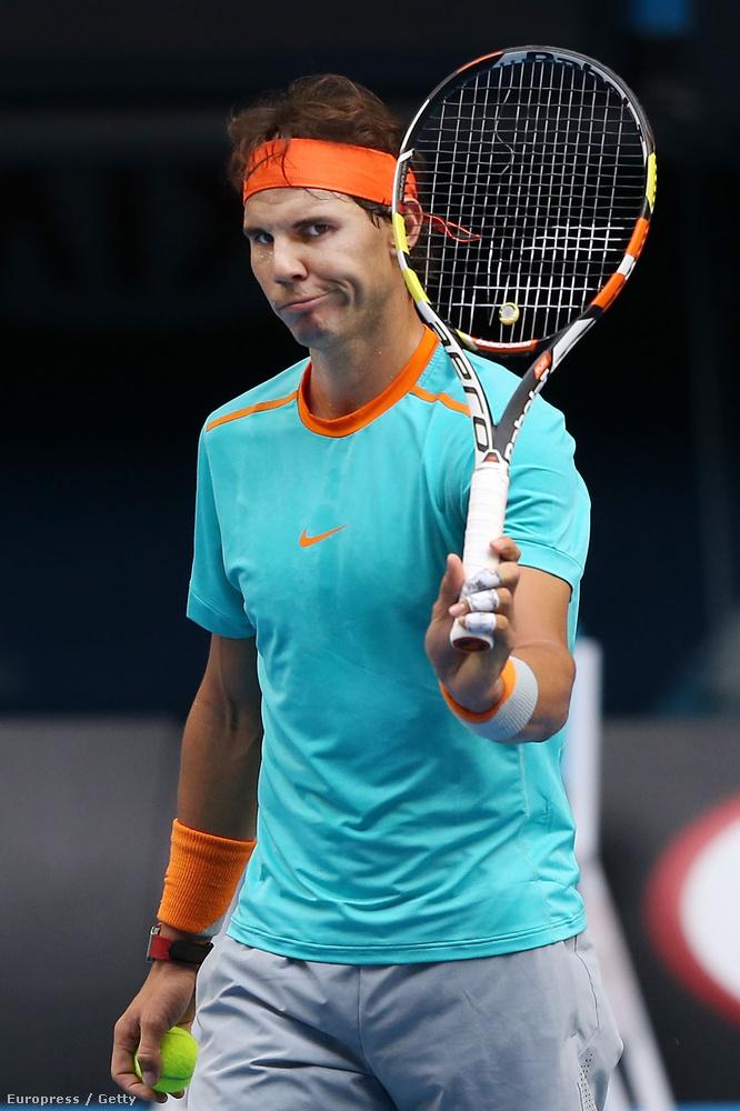 A húrszakadás viszonylag gyakori a teniszben