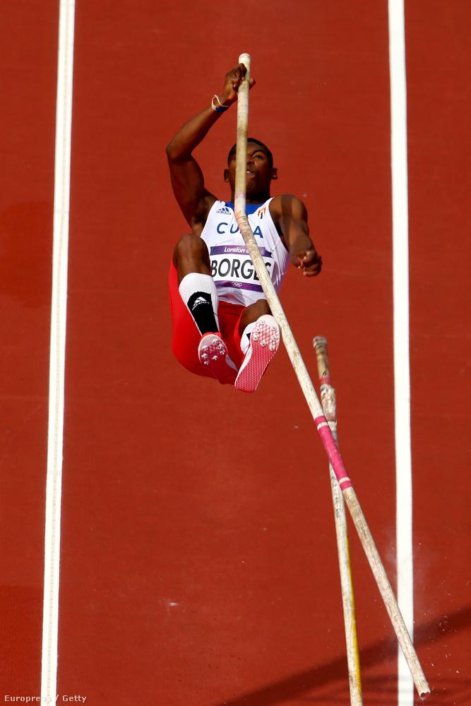 Lazaro Borges kubia rúdugró a 2012-es, londoni olimpián.