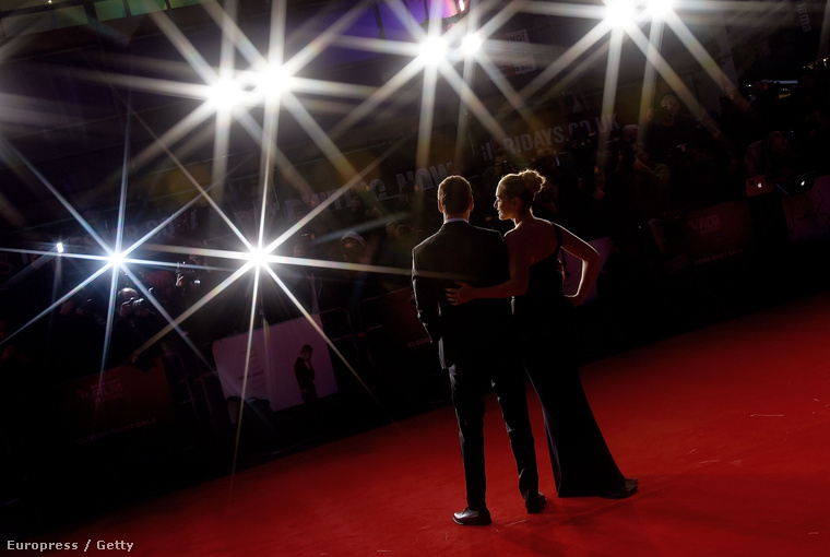 Kate Winslet és Michael Fassbender a BFI London Film Festivalon.
