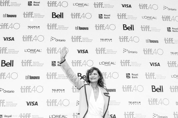 Susan Sarandon a torontói filmfesztiválon.